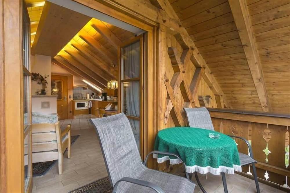 Apartmán (Gletscherrose) - Balkón