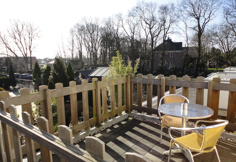 Hotel De Vier Seizoenen, Renesse, Single Room, Terrace, Garden View, Guest Room