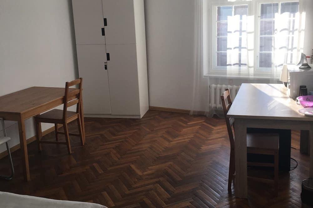 Classic-Doppelzimmer, 1King-Bett, Nichtraucher - Wohnzimmer