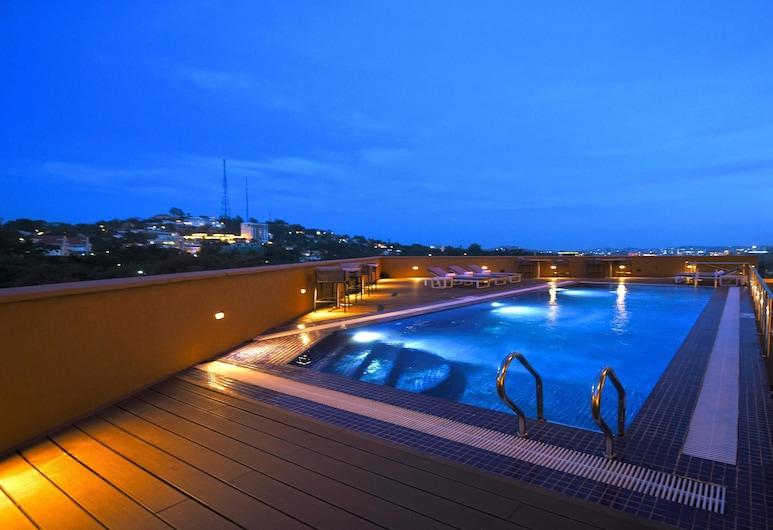 Hilton Garden Inn Kampala, Kampala, Zonneterras