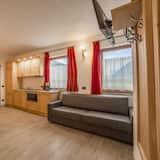 Departamento Deluxe, 2 habitaciones, vista a la montaña - Sala de estar