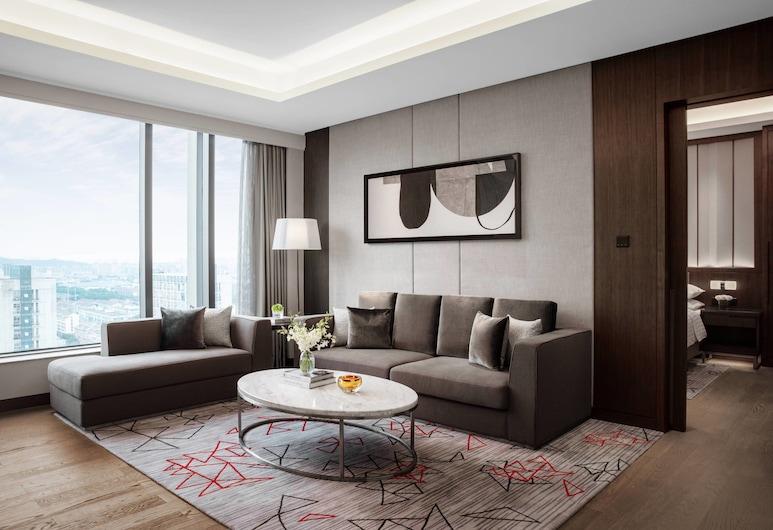 Courtyard by Marriott Suzhou Mudu, Suzhou, Executive-Suite, 1King-Bett, Executive-Etage, Zimmer