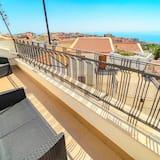 Driepersoonskamer, privébadkamer (External) - Balkon