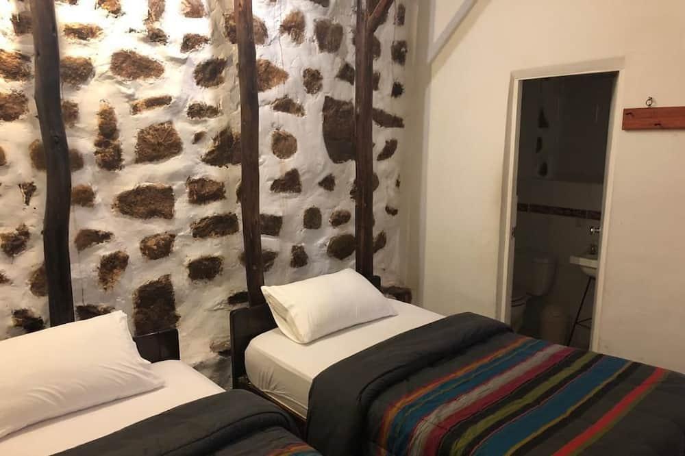 Vienvietis kambarys, 1 didelė viengulė lova - Svečių kambarys