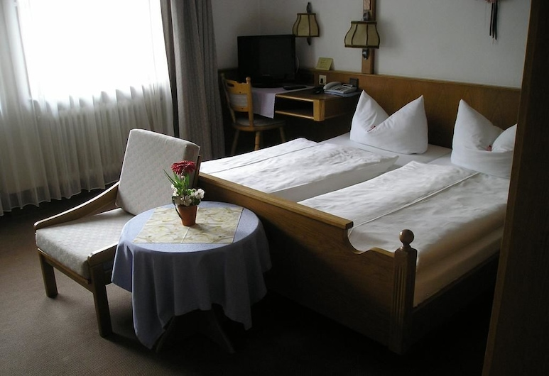 Hotel Weißes Rössel, Wertheim, Camera doppia, Camera