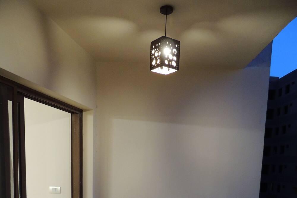 Deluxe Apart Daire, 3 Yatak Odası, Balkon, Nehir Manzaralı - Balkon