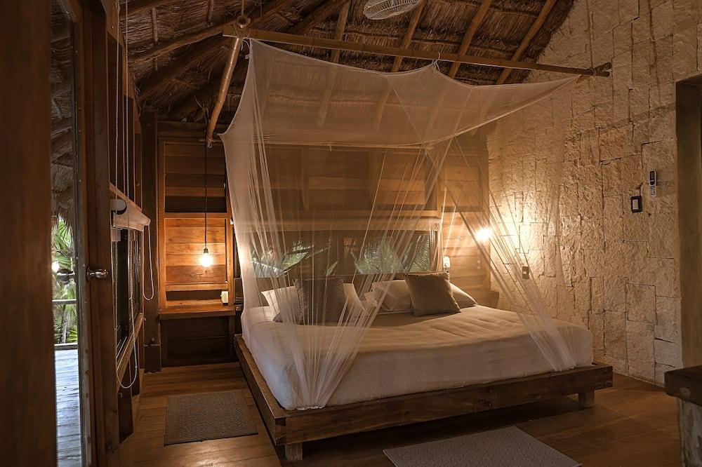 Deluxe-bungalow - 1 kingsize-seng med sovesofa - ikke-ryger - udsigt til have - Udvalgt billede