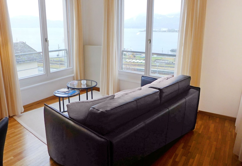 Beautiful Apartment for 4 Guests With Wifi, Balcony and Parking, Port-Valais, Oda