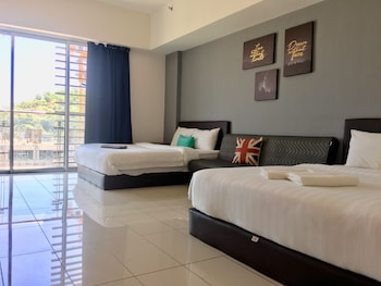 Foto di Jio Suites Aeropod Big Quadruple Rooms  a Kota Kinabalu