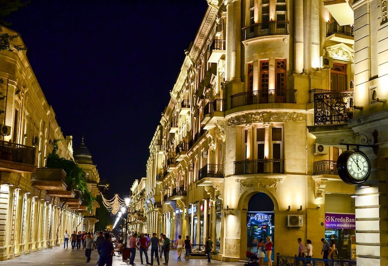 Best Center Hotel, Baku, Hotel Front
