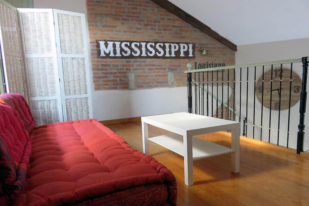 Apartman, 3 spavaće sobe, za nepušače - Dnevna soba