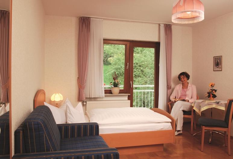 Pension Burk, Bad Endbach, Superior Μονόκλινο Δωμάτιο, Μπαλκόνι, Δωμάτιο επισκεπτών