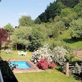 Jednokrevetna soba, balkon - Pogled na vrt