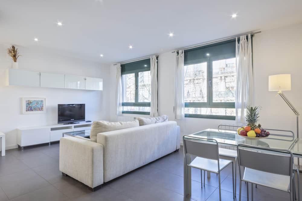 شقة - غرفة نوم واحدة (COMTAL 43) - منطقة المعيشة