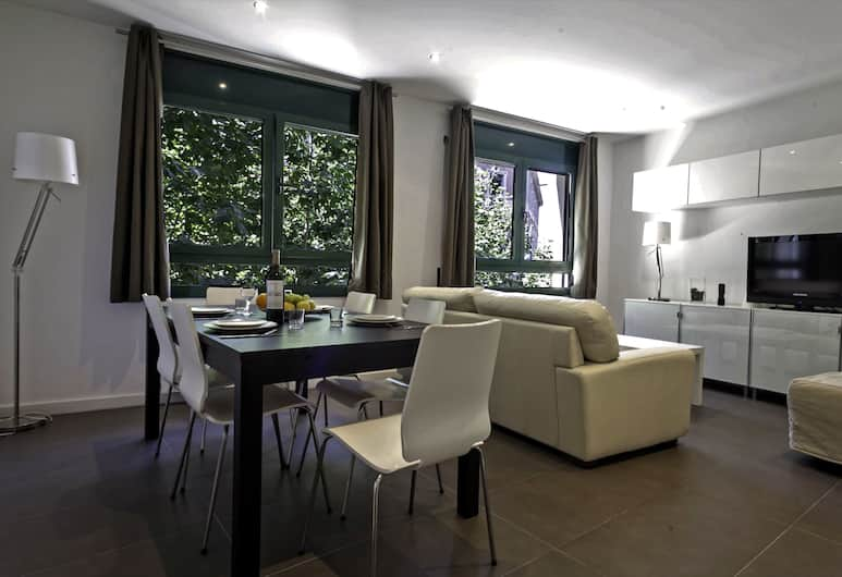Barcelona Comtal Apartments, ברצלונה, דירה, חדר שינה אחד (COMTAL 41), אזור מגורים
