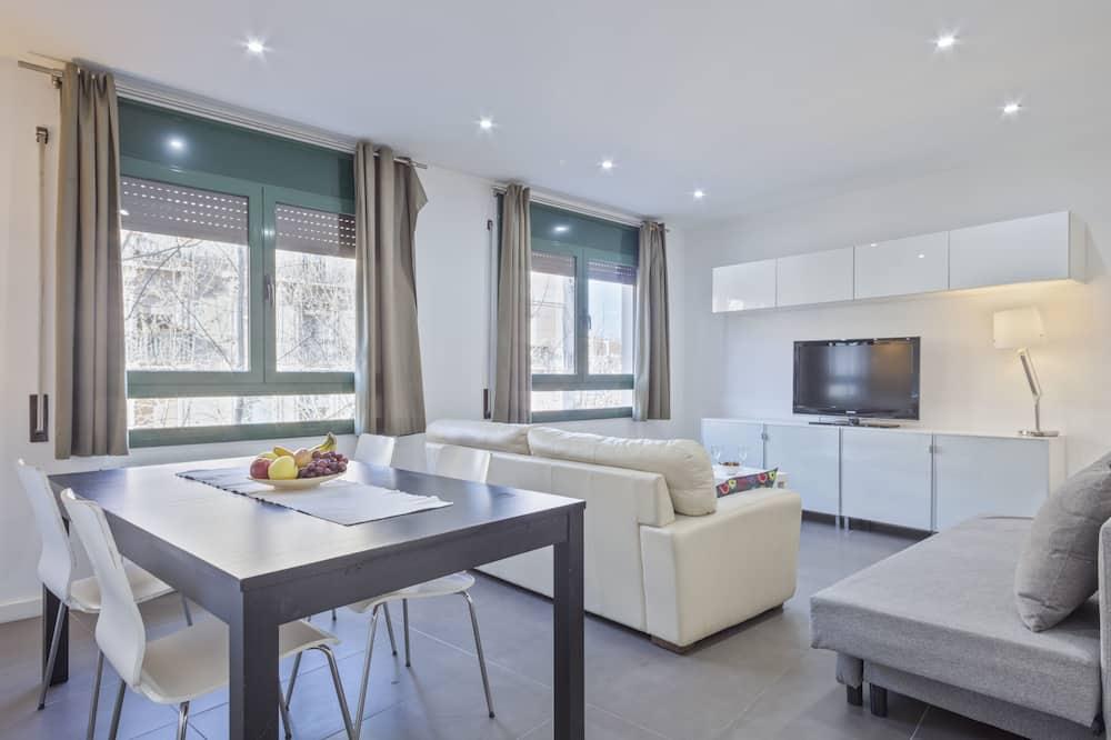 شقة - غرفة نوم واحدة (COMTAL 41) - منطقة المعيشة