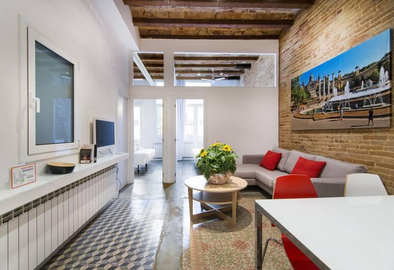 Happy People Plaza España, Barcelona, City Apartment, 2 Bedrooms, Non Smoking (With Elevator), Ruang Tamu