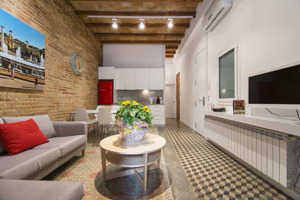 City Διαμέρισμα, 2 Υπνοδωμάτια, Μη Καπνιστών (With Elevator) - Περιοχή καθιστικού