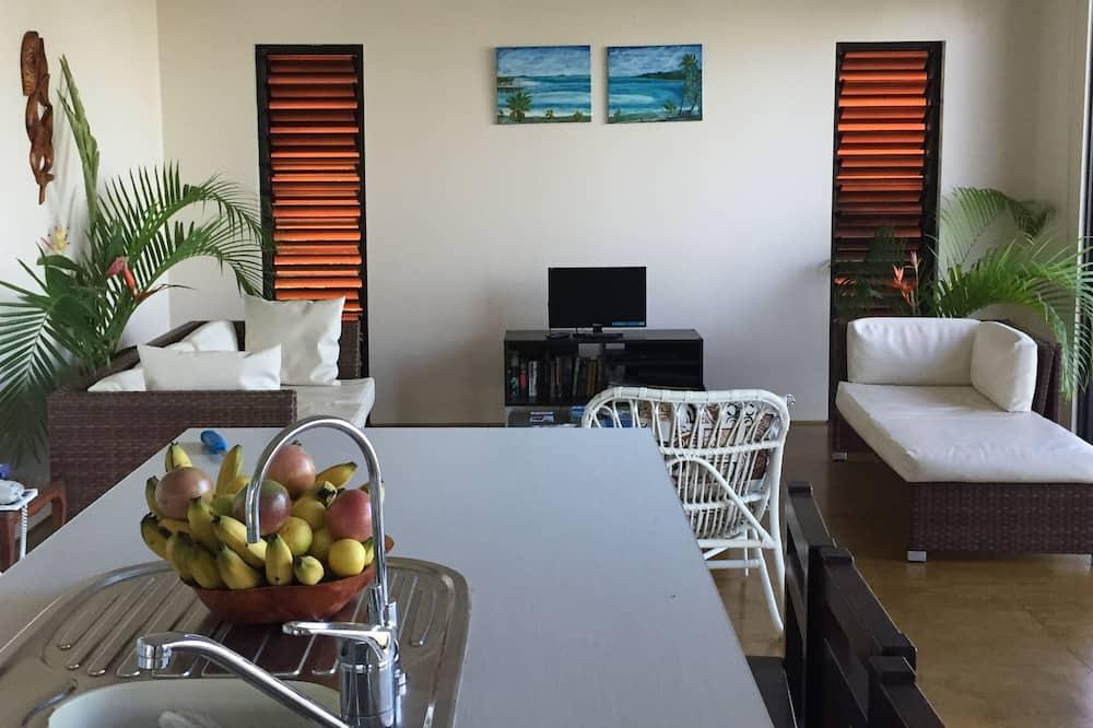 Вилла, 3 спальни, 2 ванные комнаты, вид на лагуну - Зона гостиной