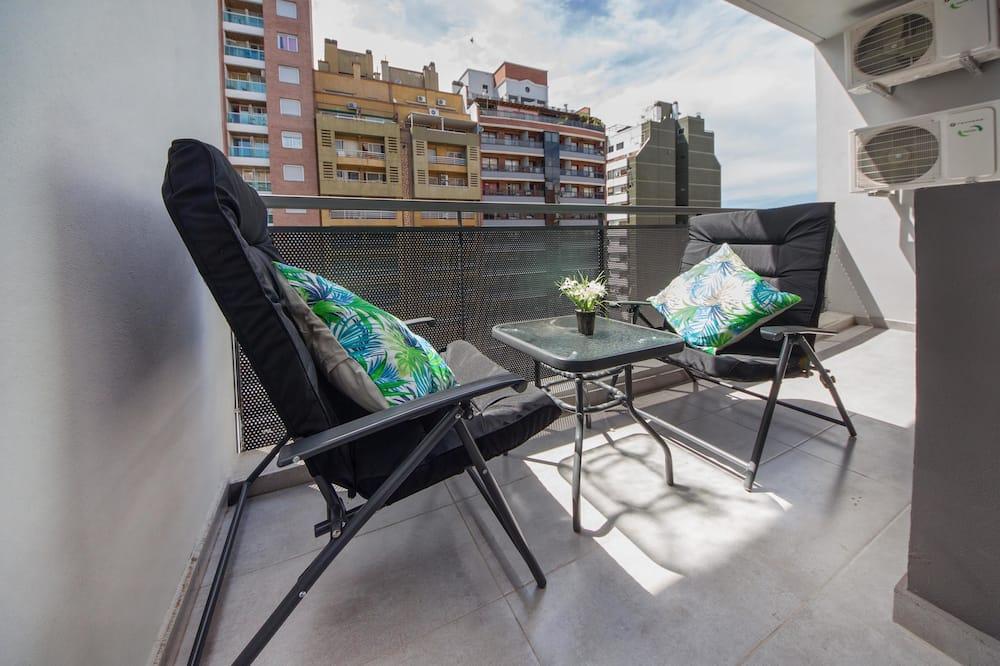 Apartment, Mehrere Betten, Nichtraucher, Stadtblick - Balkon