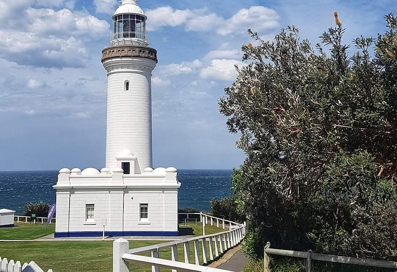 Norah Head Lighthouse, Norah Head, Front obiektu