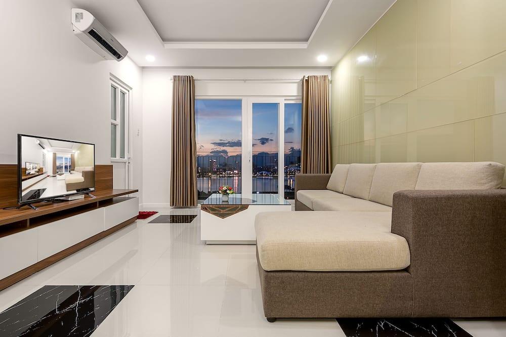 Lägenhet, 2 sovrum - リビング ルーム