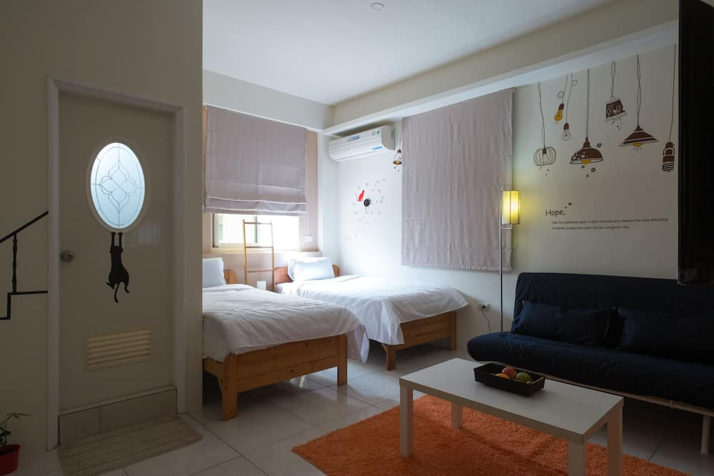 Honeymoon tweepersoonskamer, 1 kingsize bed, niet-roken - Kamer