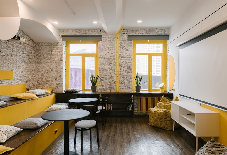 Baraban Hostel, Moscow, Living Area