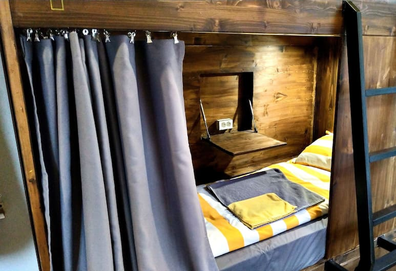 Baraban Hostel, Moscow, Bed in 4-Beds Female Dormitory Room (Kvadrat), Guest Room