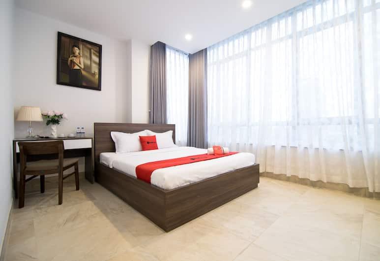 RedDoorz Premium near Hang Xanh, Ho Chi Minh-Stad, Deluxe kamer, Kamer