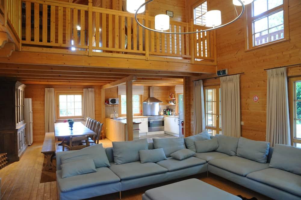 Comfort-Chalet, 6Schlafzimmer - Wohnzimmer