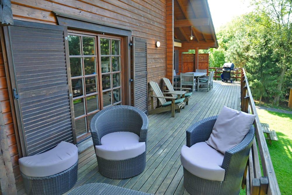 Comfort-Chalet, 4Schlafzimmer - Balkon