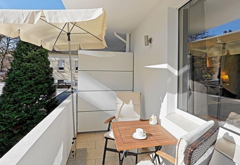 Kärleksfullt designad 2-rums-lägenhet med söderläge balkong i Krefeld, Krefeld, Balkong