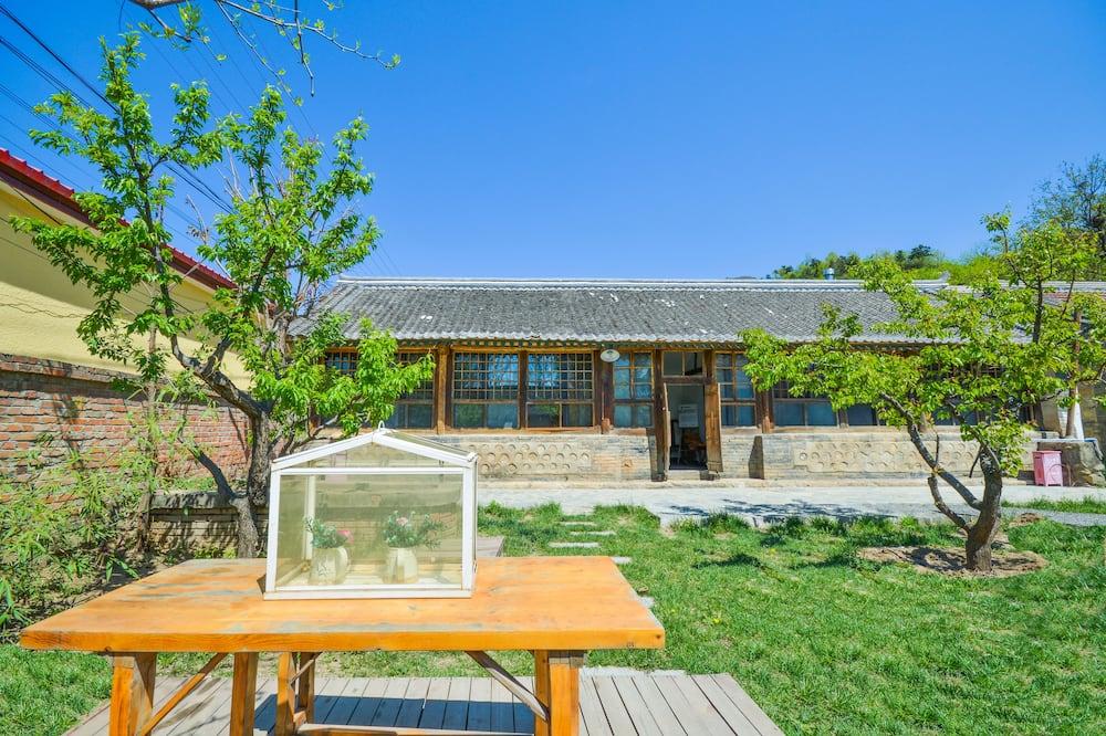 Habitación de diseño - Vista al patio