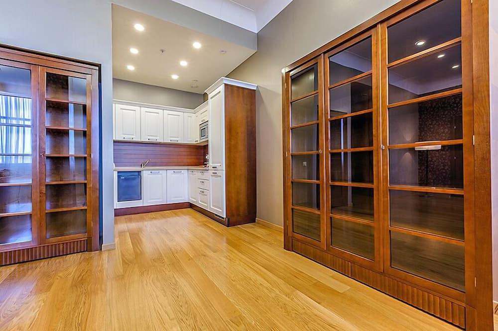 Suite presidencial, 1 habitación, cocina - Sala de estar