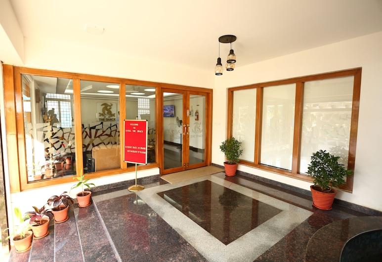 Hotel The Shack, Bengaluru, Inngangsparti