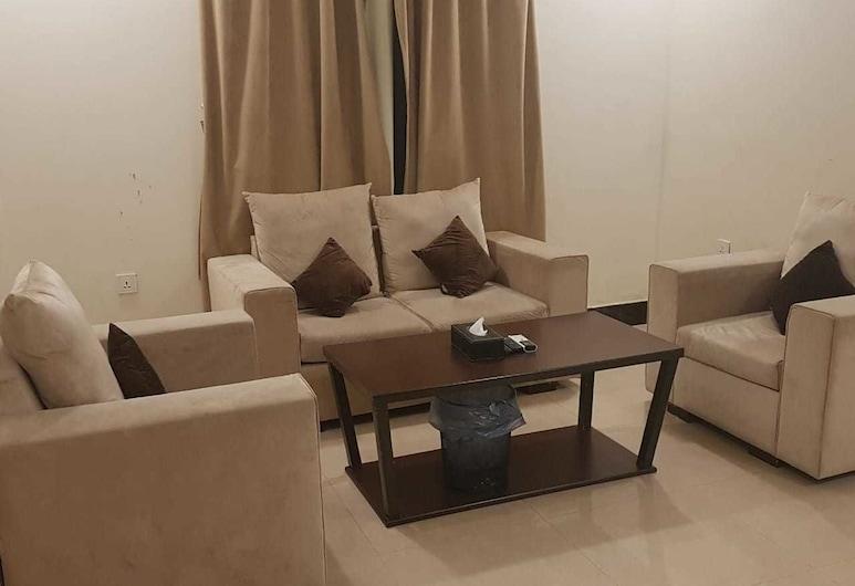 Ghrass furnished apartments, Riyadh, Vardagsrum