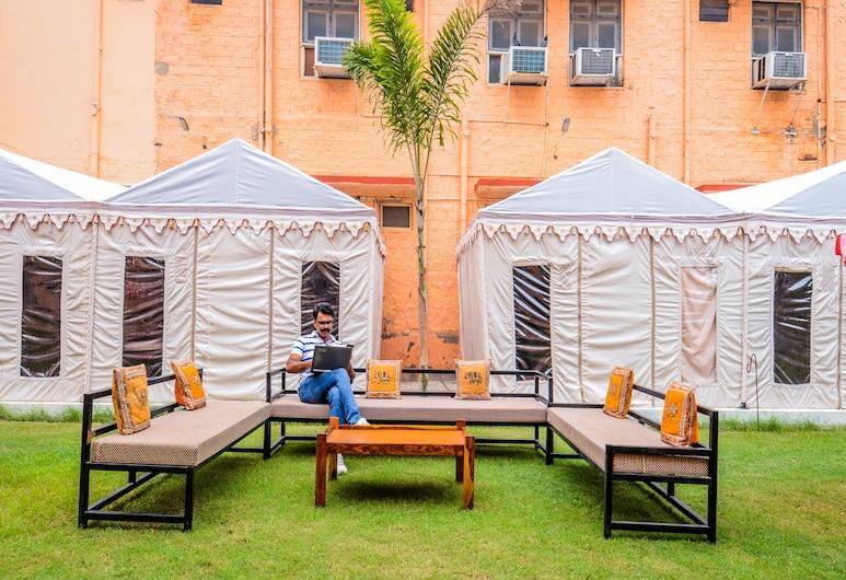OYO 18825 Hotel Akshey, Jodhpur, Terrein van accommodatie
