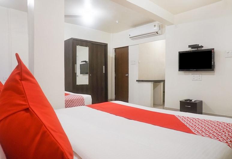 OYO 14929 River View, Pune, Pokoj s dvoulůžkem nebo 2 jednolůžky, Pokoj