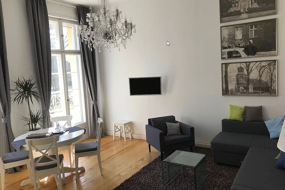 Apartament (Bechstein) - Powierzchnia mieszkalna