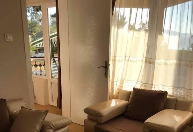 Cendik Motel, Burdur, Suite - 1 soveværelse - søudsigt, Stue