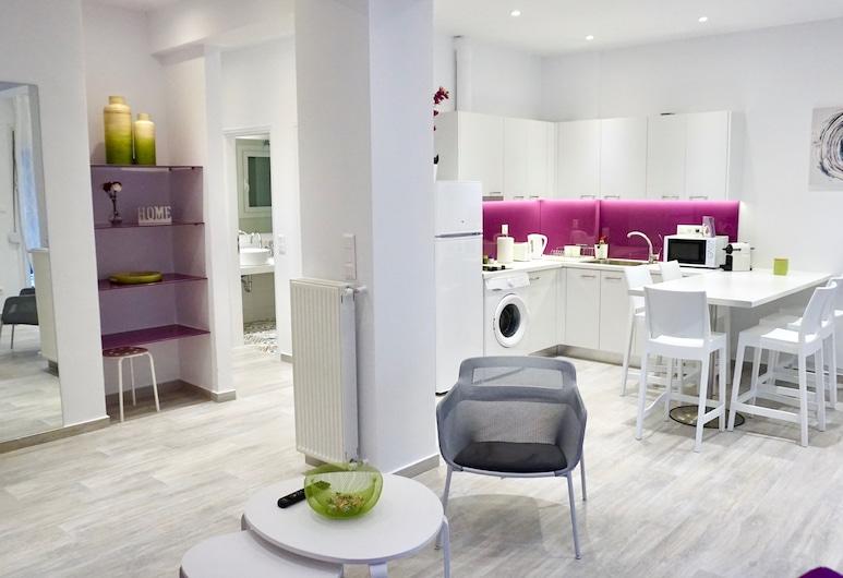 Spacious Modern Apt in Athens near Metro, Ateena, Külaliskorter, 2 magamistoaga, Lõõgastumisala