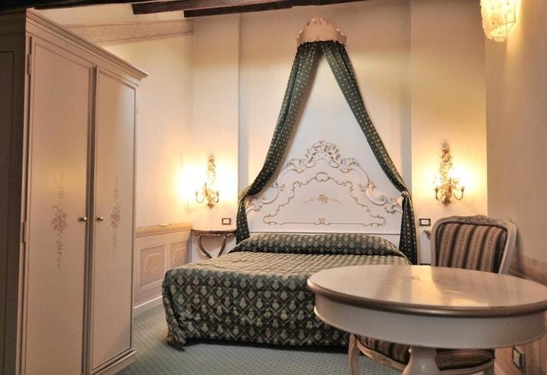 Hotel New Mezzo Pozzo, Venecija, Standartinio tipo dvivietis kambarys, 1 standartinė dvigulė lova, Nerūkantiesiems, vaizdas į miestą, Svečių kambarys