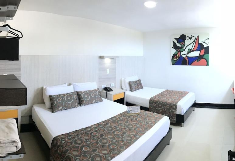 Hotel Genova Prado, Barranquilla, Triple Room, Multiple Beds, Non Smoking, Guest Room