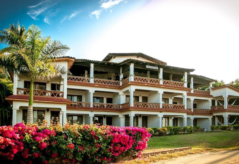 Hotel Arcoiris, Puerto Escondido, Průčelí hotelu