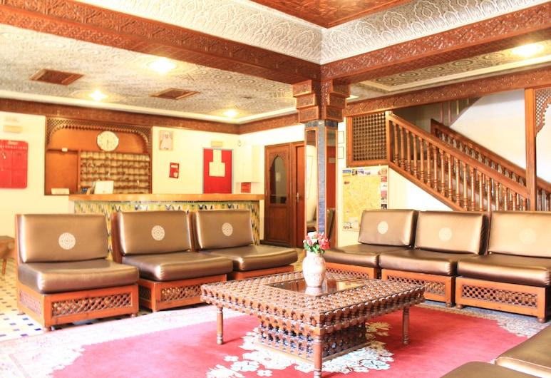 El Hamra Hotel, Marrakech, Sala de Estar do Lobby