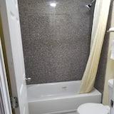 Economy Double Room, 2 Double Beds, Non Smoking - Bathroom