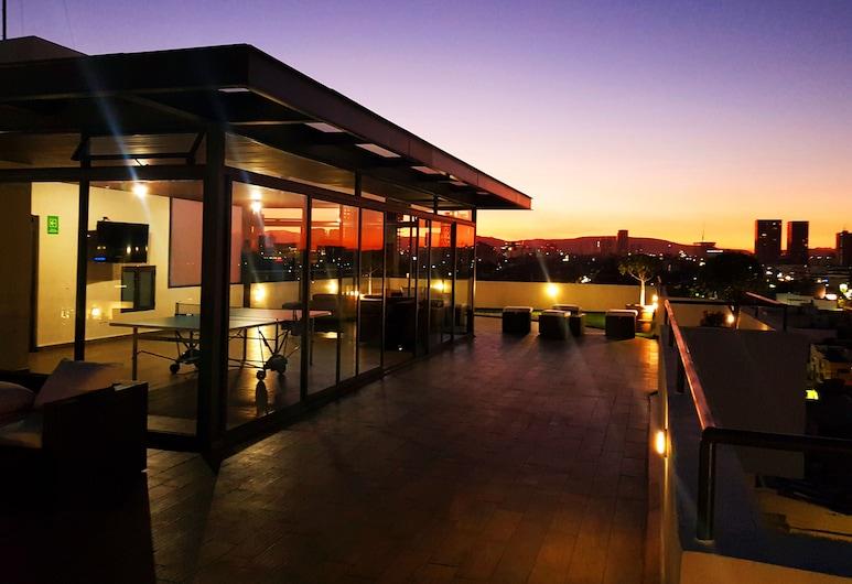 Blue Pepper Premium Rooms, Guadalajara, Terrasse/patio