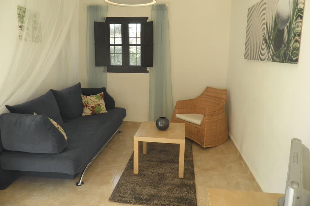 Lejlighed - 1 kingsize-seng med sovesofa - udsigt til gårdsplads - Stue