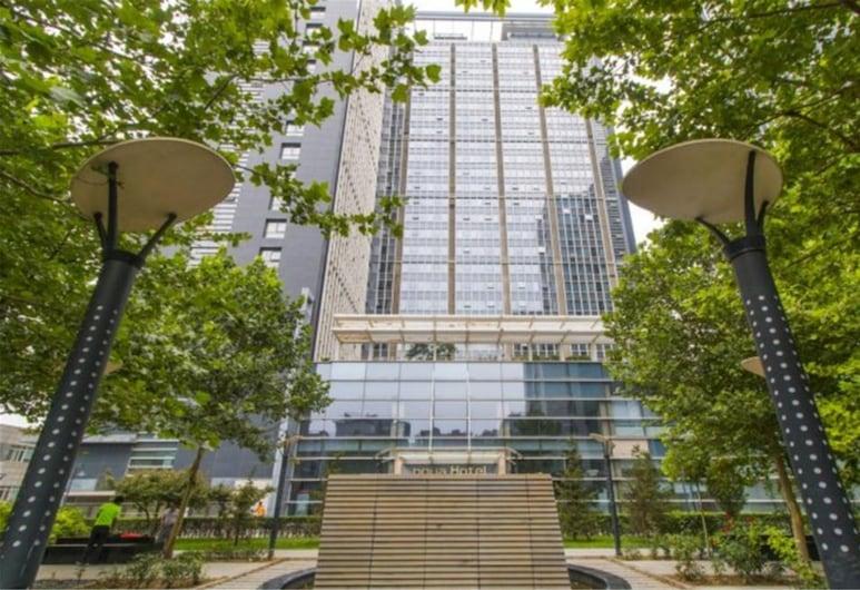 Tiandi Huadian Apartment Boya, Pekín, Vista frontal de la propiedad